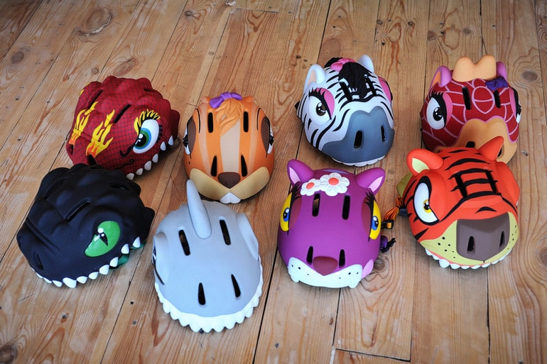 Защитные шлемы Crazy Safety.