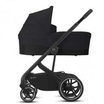 Универсальная коляска Cybex Balios S Lux Black 2в1