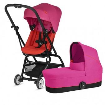 Детская коляска Cybex Eezy S Twist 2 в 1 Fancy Pink