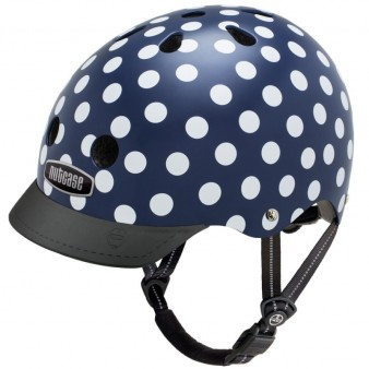 Защитный шлем Nutcase Street NAVY DOTS NTG3-2176-S