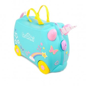 Детский чемодан Trunki Единорог Уна