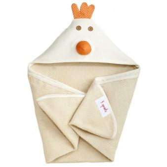 Детское полотенце с капюшоном 3 Sprouts Цыпленок