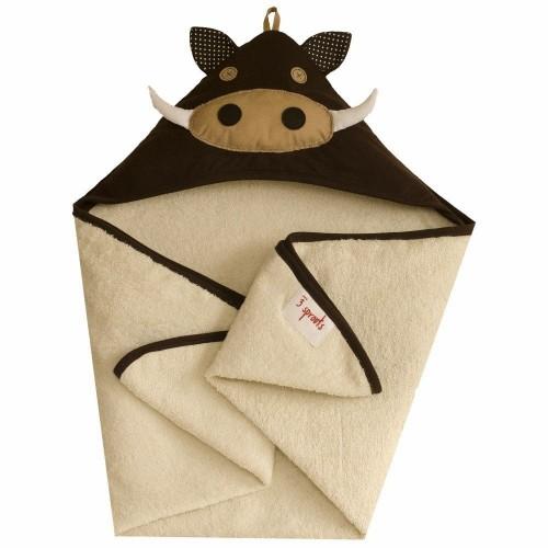 Детское полотенце с капюшоном 3 Sprouts Кабанчик