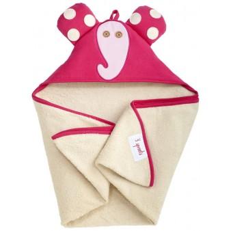 Детское полотенце с капюшоном 3 Sprouts Слоненок