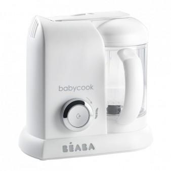 Блендер-пароварка Beaba Babycook Solo White Silver