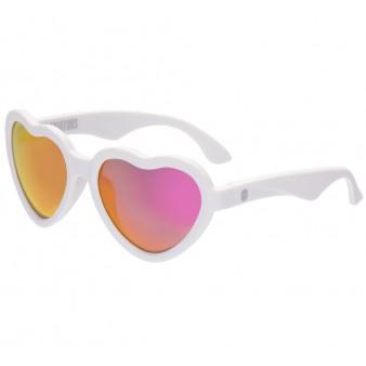 Детские солнцезащитные очки Babiators Hearts Sweethearts зеркальные 0-2 года