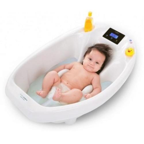 Детская ванночка Baby Patent с электронными весами и термометром Aqua Scale