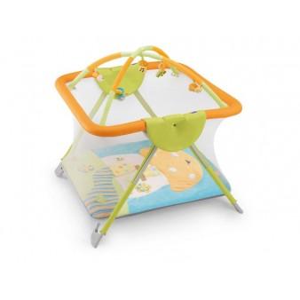 Детский манеж Cam America Arcogiochi с игровым ковриком