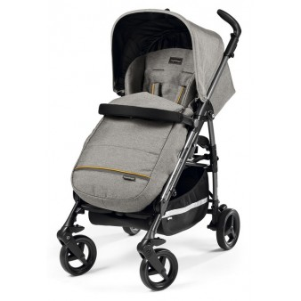 Прогулочная коляска Peg-Perego Si Luxe Grey / Manri / Blue Denim