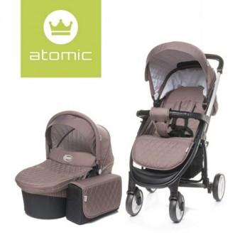 Детская коляска 4Baby Atomic 2 в 1