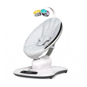 Кресло-качалка 4moms Mamaroo 4.0 Grey Classic