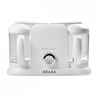 Блендер-пароварка Beaba Babycook Duo White Silver
