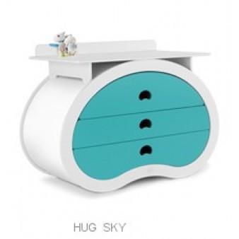 Детский комод с пеленальным столиком Beaneasy Hug