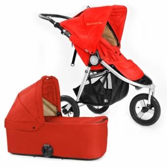 Детская коляска Bumbleride Indie 2 в 1 Red Sand
