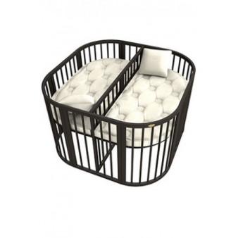 Детская кроватка для двойни ComfortBaby PlayPen 3 в 1