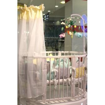 Детская кроватка-трансформер ComfortBaby SmartGrow 8 в 1 (Беленый Дуб)