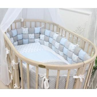 Детская кроватка-трансформер ComfortBaby SmartGrow 8 в 1 (Молочный ясень)