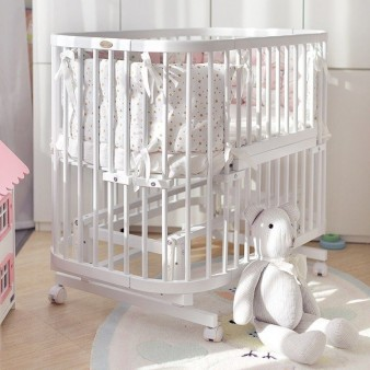 Детская кроватка-трансформер ComfortBaby SmartTrip 5в1 + матрас + маятник (SUPER SPECIAL)