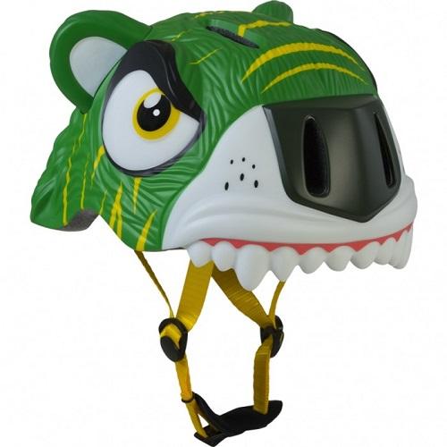 Шлем Crazy Safety Green Tiger, Дания