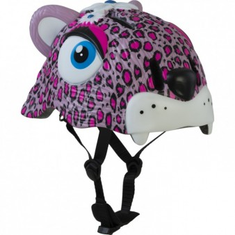 Шлем Crazy Safety Pink Leopard, Дания