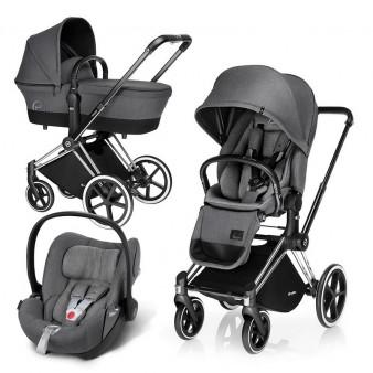 Детская коляска Cybex Priam Lux + Cloud Q Plus 3 в 1