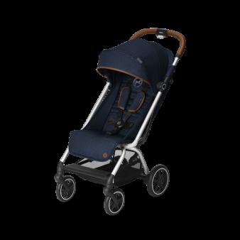 Прогулочная коляска Cybex Eezy S Plus Denim Series (2020) с дождевиком
