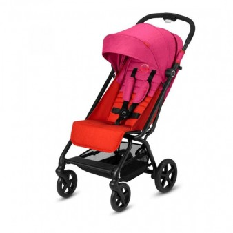Прогулочная коляска Cybex Eezy S Plus цвет Fancy Pink