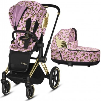 Коляска детская  Cybex Priam Lux  Jeremy Scott Cherubs 2 в 1