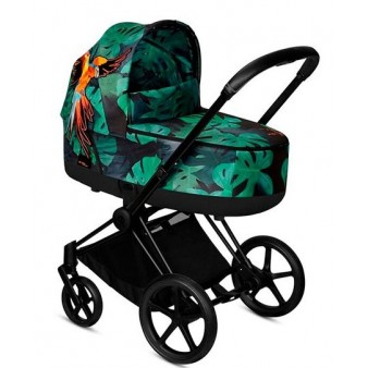 Коляска детская Cybex Priam Lux  Birds of Paradise 2 в 1 2019