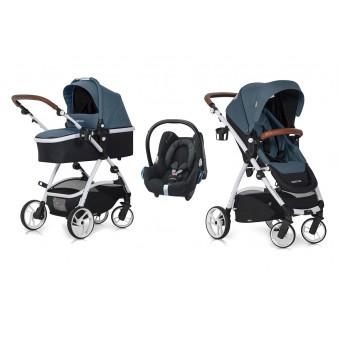 Детская коляска EasyGo Optimo 3 в 1 + Maxi-Cosi Cabriofix