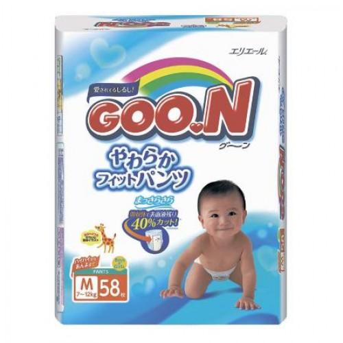 Подгузники-трусики GooN M (7-12 кг) 58 шт.