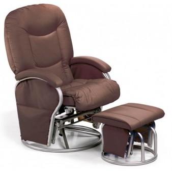 Кресло для мам для кормления и отдыха Hauck Metal Glider, Германия
