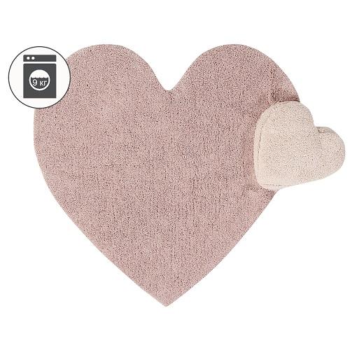 Ковер Lorena Canals Сердце с подушкой