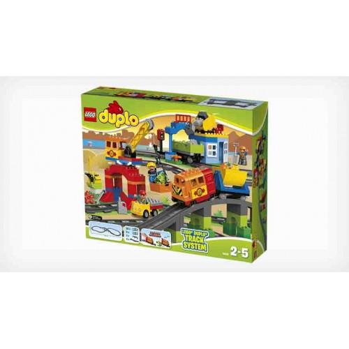 Конструктор Lego Duplo Town «Большой поезд» 10508