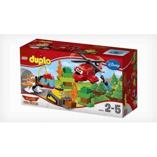 Конструктор Lego Duplo «Пожарная спасательная команда» 10538