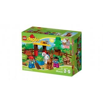Конструктор Lego Duplo Town «Лесные животные» 10582