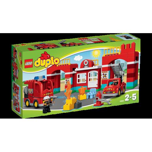 Конструктор Lego DuploTown «Пожарная станция» 10593
