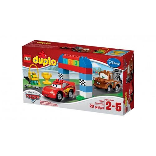 Конструктор Lego Duplo «Гонки на тачках» 10600
