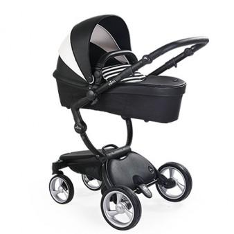 Детская коляска 2 в 1 Mima Xari 3G Black White