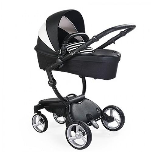 Детская коляска 2 в 1 Mima Xari 4G Black White