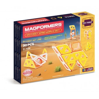 Набор Magformers My First Sand World Set
