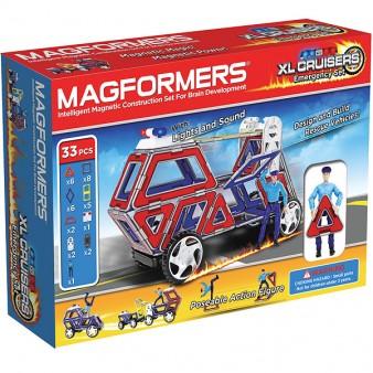 Конструктор Magformers XL Cruisers l Служба спасения