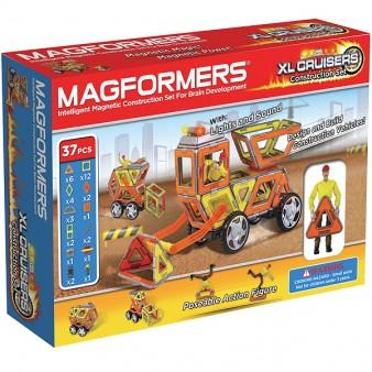 Конструктор Magformers XL Cruisers l Строители