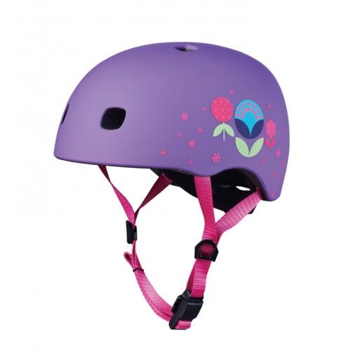 Защитный шлем Micro V2 Цветочный