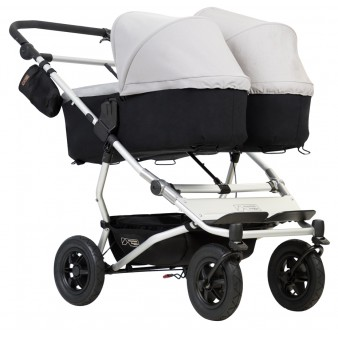 Детская коляска для двойни Mountain Buggy Duet 3.0 2 в 1