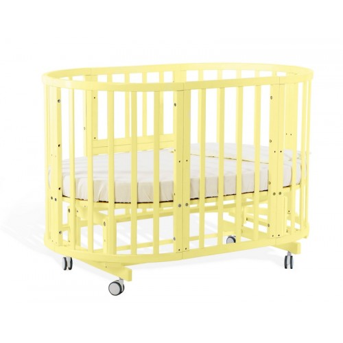 Детская кроватка Nuovita Nido Magia Chartreuse 5 в 1 с маятником