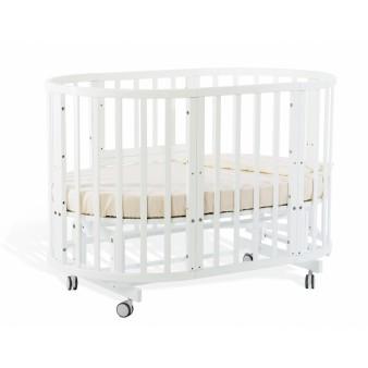 Детская кроватка Nuovita Nido Magia 5 в 1 Bianco с маятником