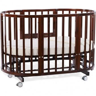Детская кроватка Nuovita Nido Magia 5 в 1 Mogano с маятником