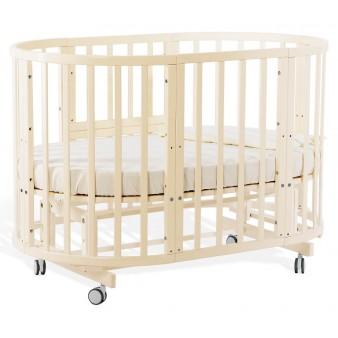 Детская кроватка Nuovita Nido Magia 5 в 1 Avorio с маятником