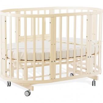 Детская кроватка Nuovita Nido Magia 5 в 1 Vaniglia с маятником